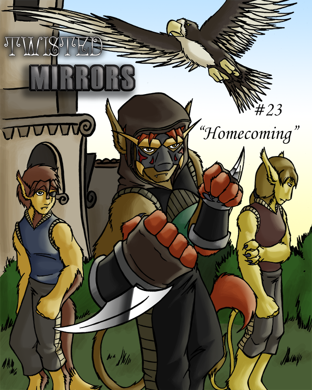 Cover 23: Homecoming